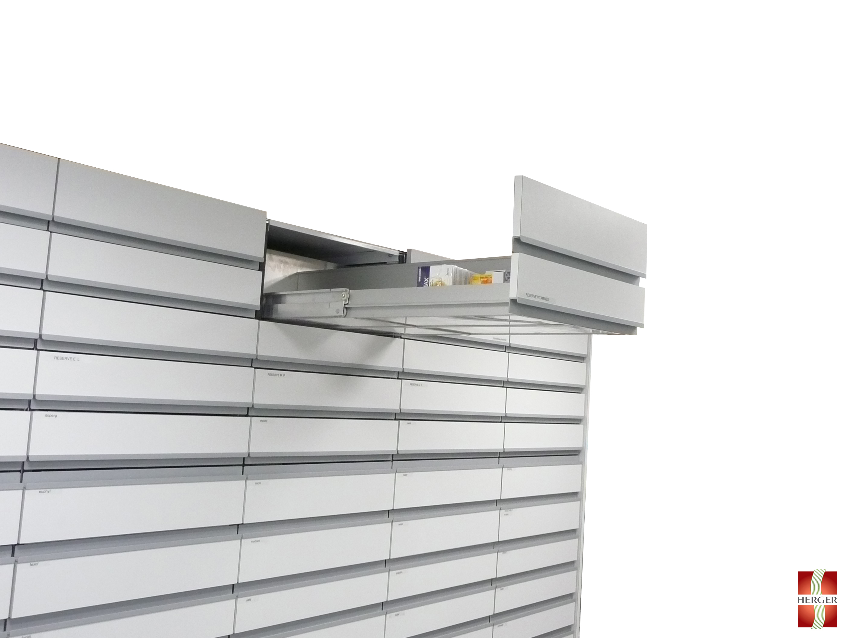 colonnes à tiroirs simples ou doubles hauteurs ou encore colonnes